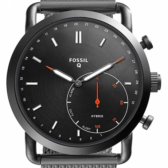 Fossil Other - New Fossil Q Men's Stainless Steel Mesh Smartwatch